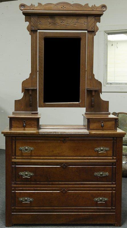 Victorian Eastlake Dresser With Mirror Bestdressers 2017