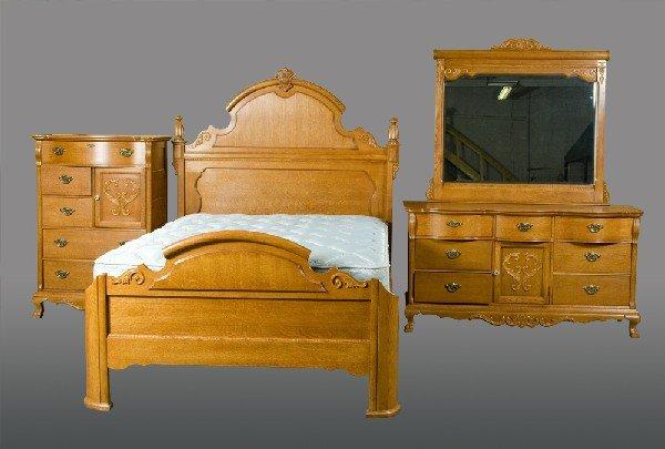 466 4 Piece Lexington Bedroom Furniture Set Lot 466