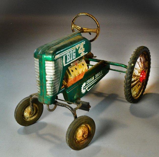 Vintage pedal tractors how