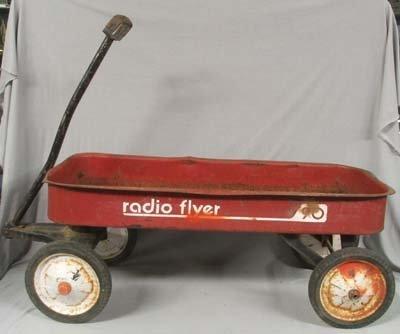 Vintage Radio Flyer Wagon 108