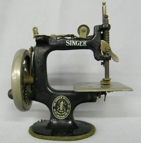 singer sewing machine miniature antique