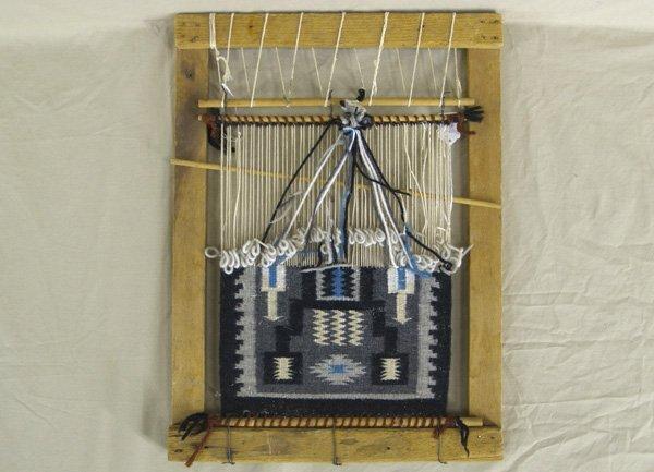 Royalty Free Images of Navajo Rug making - Navajo Rug Weaving