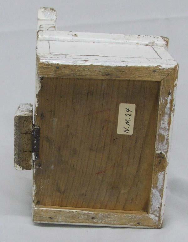 Vintage Church Wood Offering Box 10''x6''x4'' : Lot 1090A
