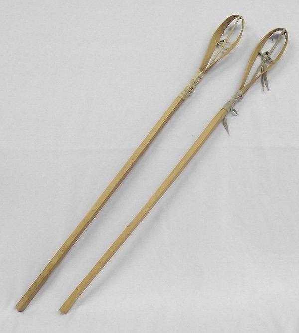 native american lacrosse stick