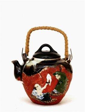 1809 japanese sumida gawa elephant shape teapot lot 1809 - Elephant shaped teapot ...