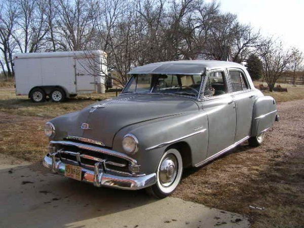 26h 1951 plymouth cranbrook 4dr sedan lot 26h for 1951 plymouth 2 door