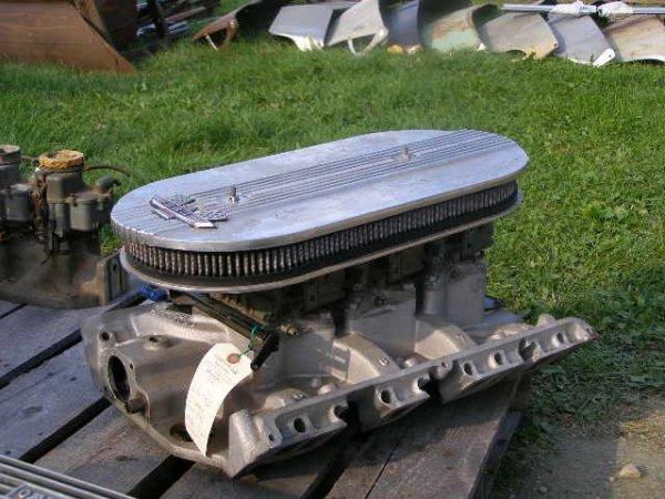 26l Ford 390 Tri Power Set Up Lot 26l
