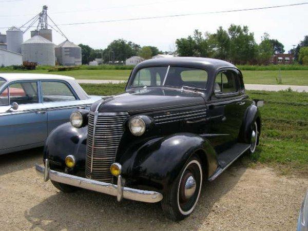 29a 1938 chevrolet 2 door business coupe lot 29a for 1938 chevrolet 2 door sedan