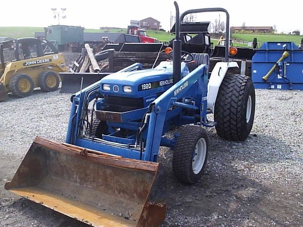New Holland Ford Tractor 1920 : New holland ford wd tractor w loader lot