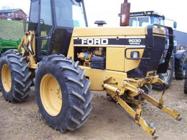 Ford Bi Directional Tractor : A ford new holland bi directional w ldr cab lot