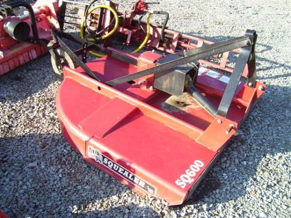 61 Nice Bush Hog Sq600 3pt Rotary Mower For Tractors Lot 61