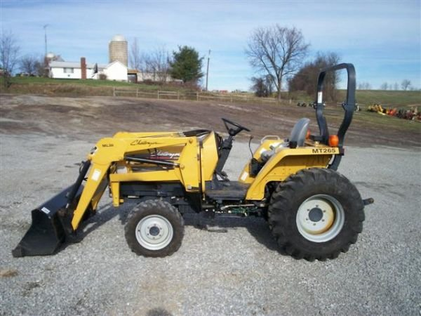 41 cat challenger mt265 4wd compact tractor w ldr lot 41