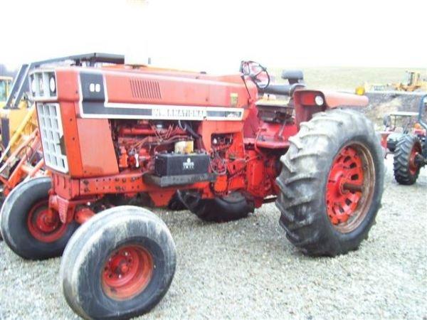966 International Tractor : A international farm tractor black stripe lot