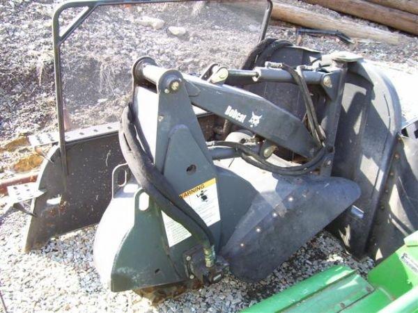 46 bobcat stump grinder for skid steer loaders lot 46