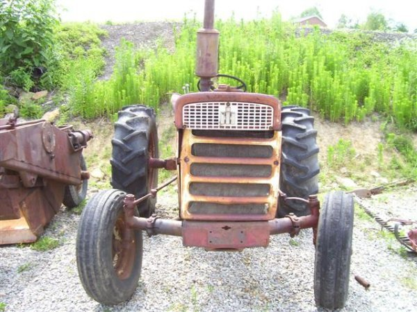 Farmall 460 Tractor Parts : Ih farmall diesel parts only tractor lot