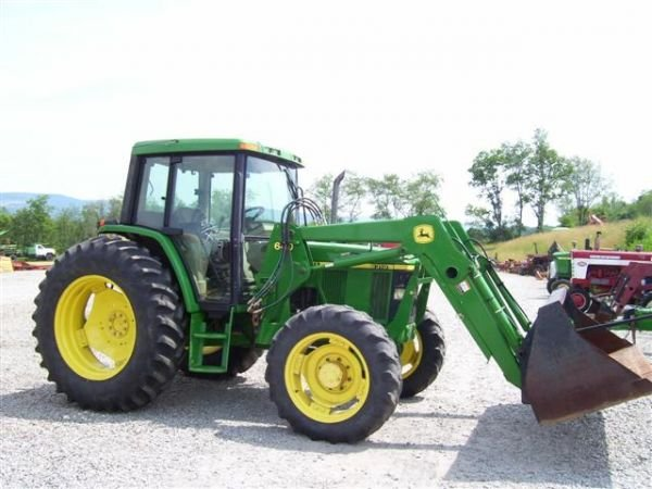 1034 nice john deere 6310 4wd tractor w cab air ldr 79 for Chambre a air tracteur occasion