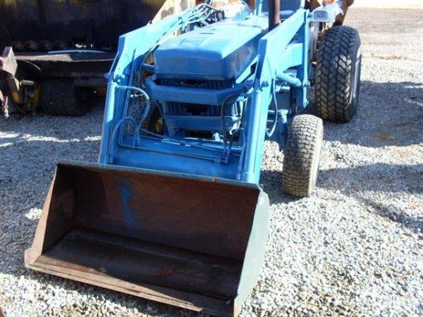Ford 1710 Loader : Ford tractor w loader backhoe lot