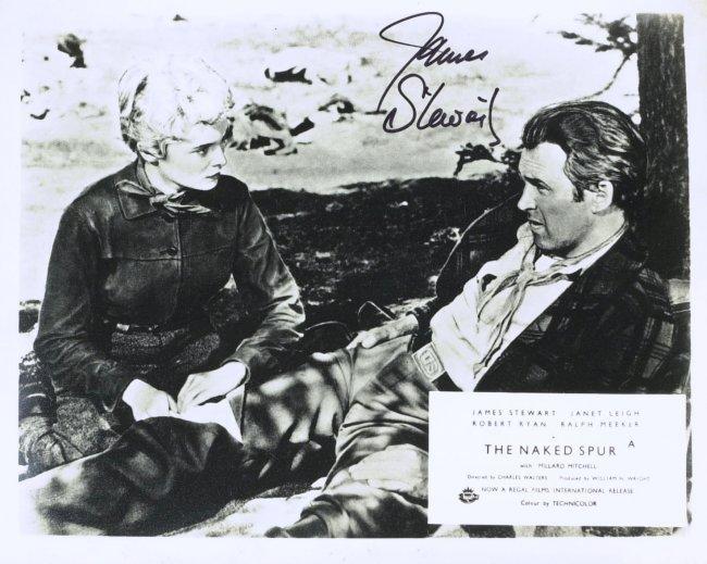 Wonderful Life Actor Jimmy Stewart Photo Signed Lot 1251