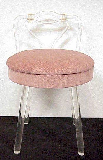 232 lucite vanity chair lot 232 - Acrylic vanity chair ...