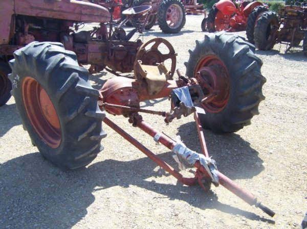 4x4 Tractor Axle : Front axle for international farm tractor