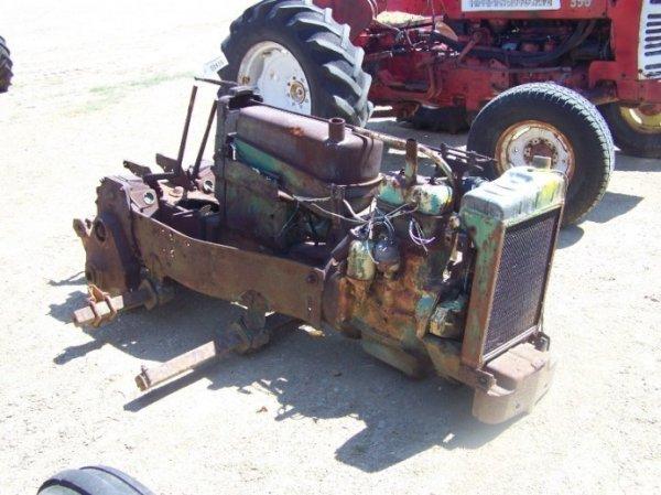 Antique John Deere Parts : John deere antique crawler parts tractor lot