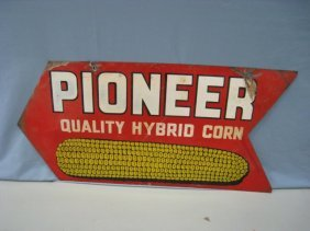 19663: Pioneer Seed Corn Sign : Lot 19663