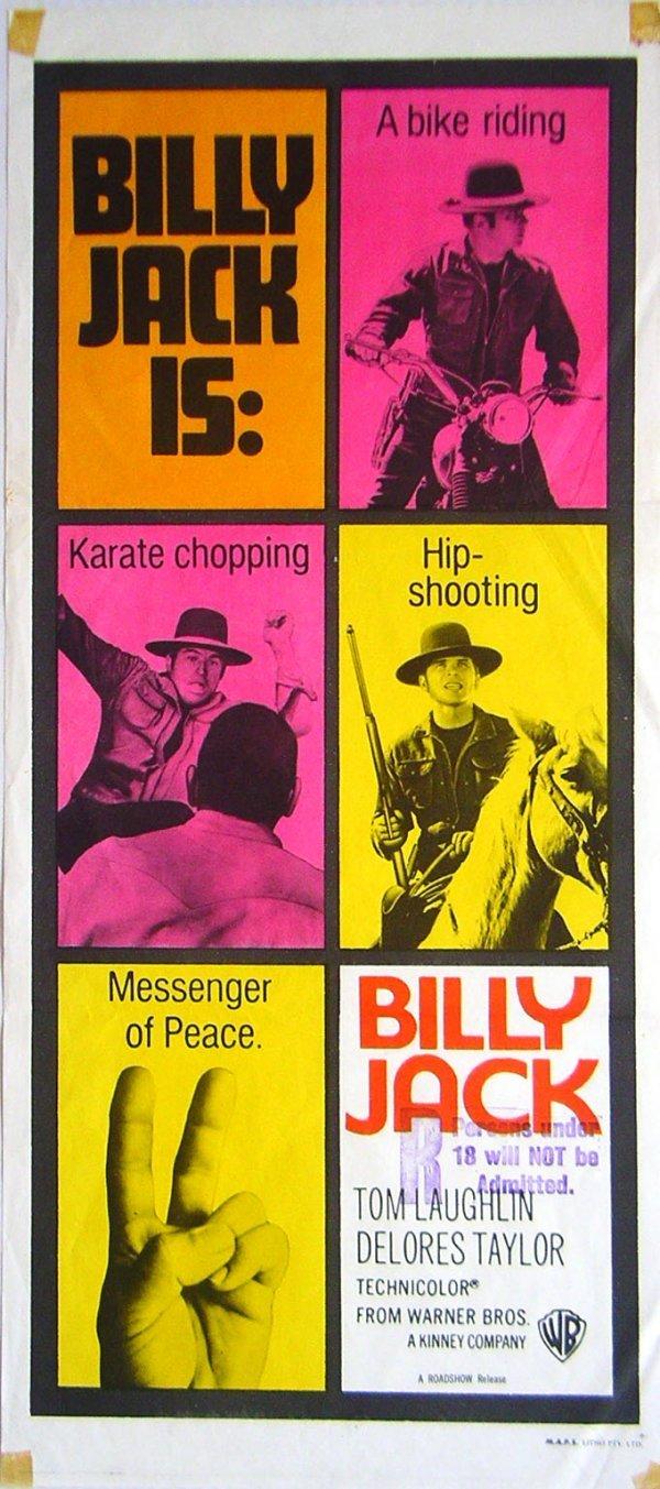 378 movie poster billy jack daybill lot 378