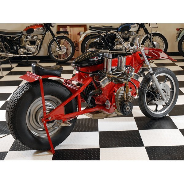 250 The Michigan Mad Man S Quot Whizzer Quot V8 Motorcycle Lot 250