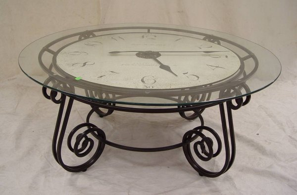 89 Howard Miller Coffee Table Clock 17 Tall 40 Acros Lot 89