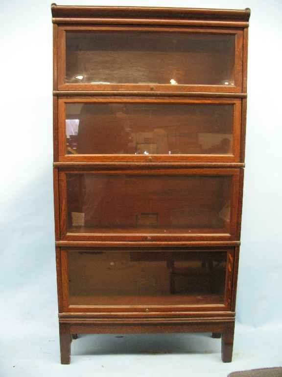Barrister bookshelf 28 images antique barrister for Stacking bookcase plans