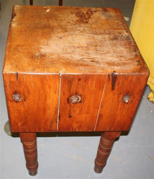 Fabulous Antique Butcher Block Table 519 x 600 · 53 kB · jpeg
