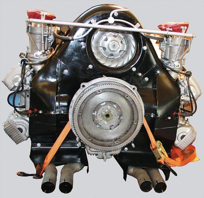 Porsche 911 Gts Engine: PORSCHE Porsche 904 Engine Type 587/3, No. 99047, From