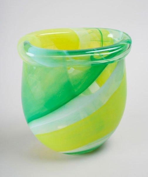 250 vicke lindstrand kosta boda glass vase lot 250. Black Bedroom Furniture Sets. Home Design Ideas