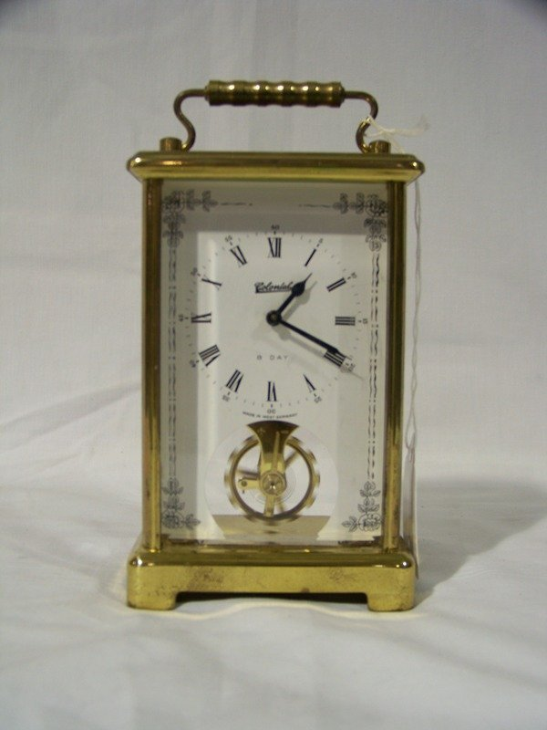 Vintage Brass Colonial Carriage Clock Antique Clocks Price