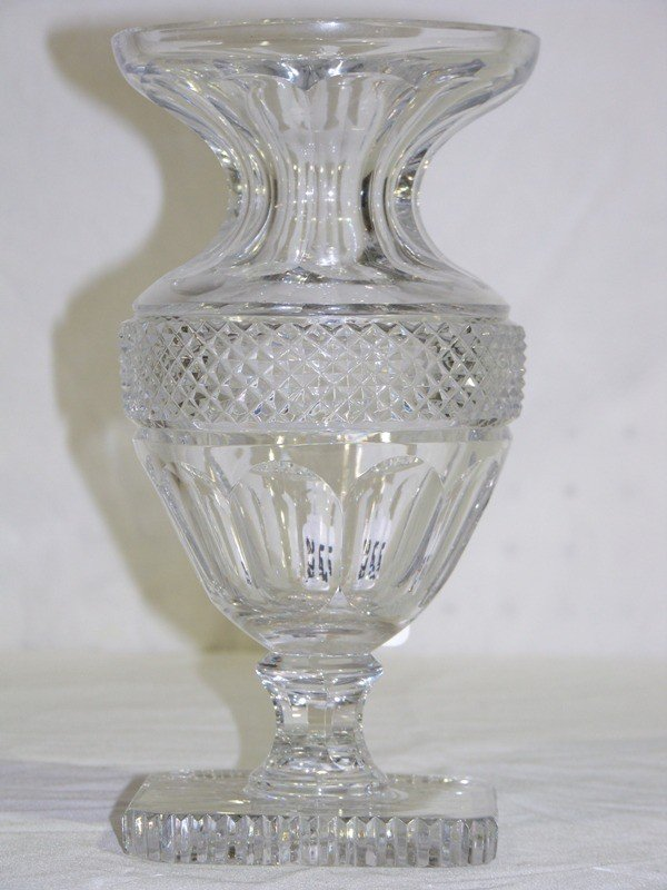 Antique Baccarat Crystal Vase Official Site Of Jossara Jinaro