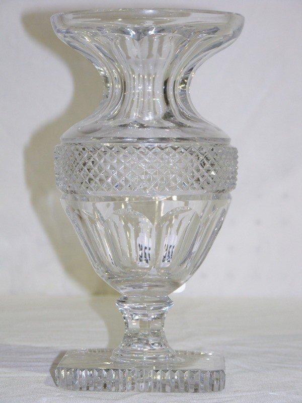 Antique baccarat crystal vase » Official Site of Jossara Jinaro