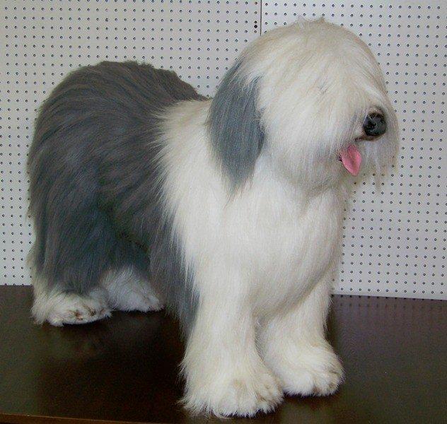 177 life size avanti sheep dog stuffed animal lot 177. Black Bedroom Furniture Sets. Home Design Ideas