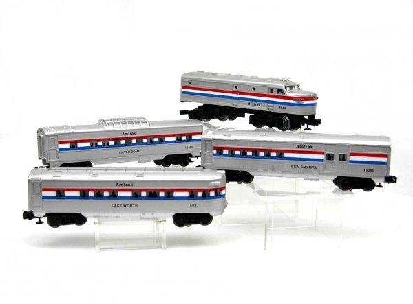 Amtrak o gauge train sets videos