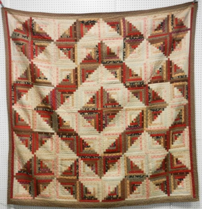 1000 Images About Log Cabin Quilt Layouts On Pinterest