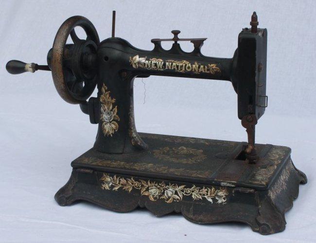 crank sewing machine