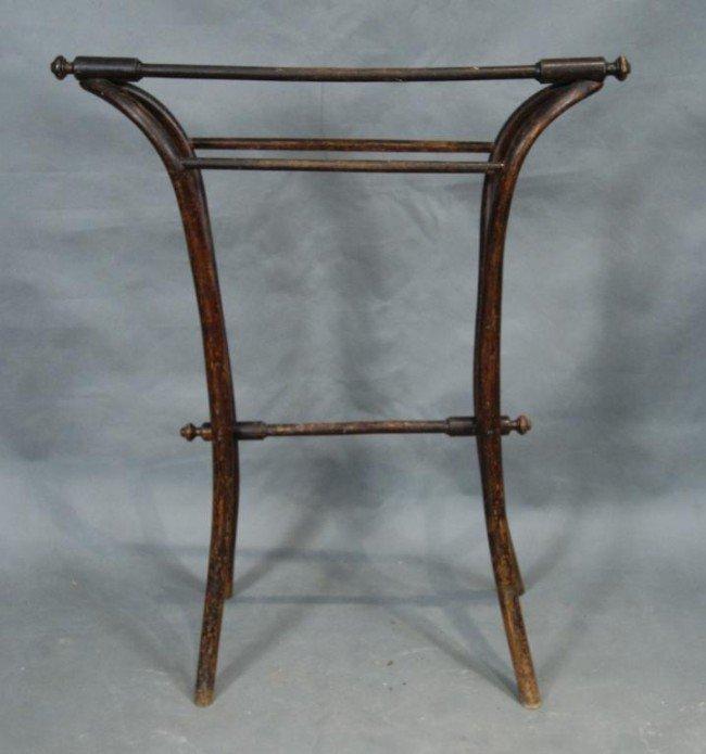 18B Bentwood Antique Quilt Rack Lot 18B