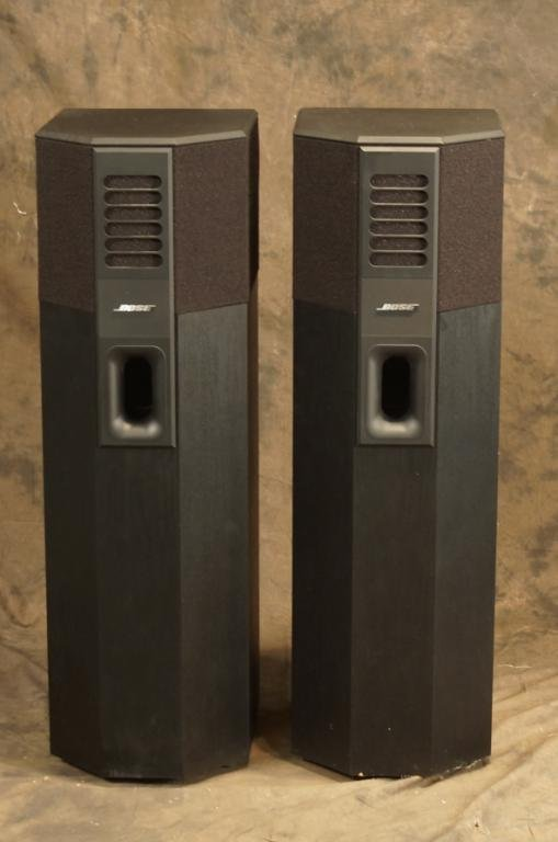 pair bose 701 direct reflecting 200 watt speakers lot 42. Black Bedroom Furniture Sets. Home Design Ideas