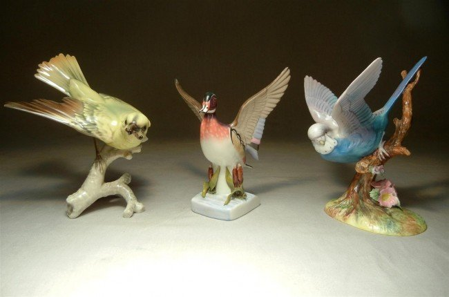 97 hutschenreuther boehm radnor bird figurines lot 97. Black Bedroom Furniture Sets. Home Design Ideas