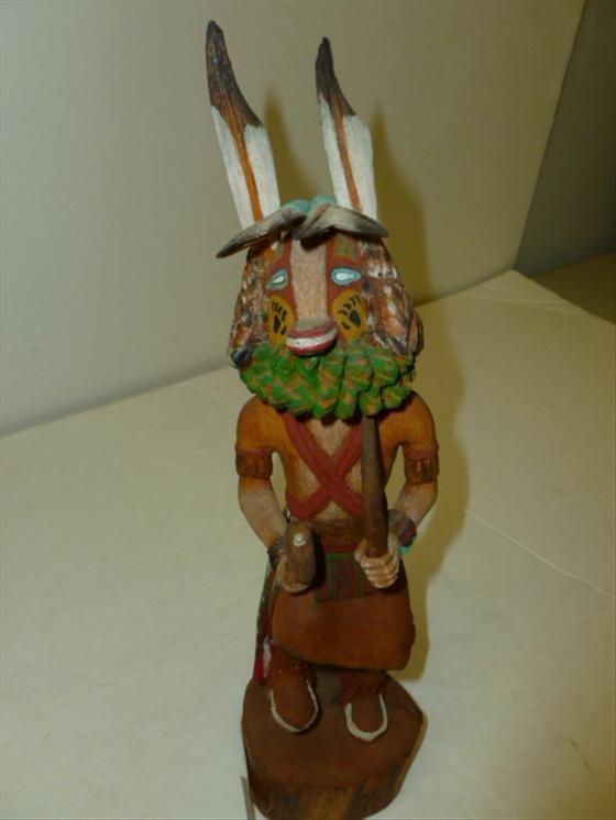 kachina doll native american indian lot 6327