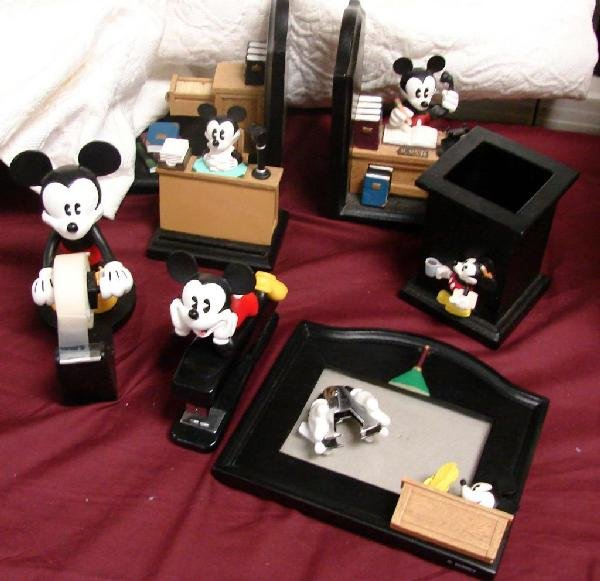 Mickey Mouse Desk Accessories Pictures