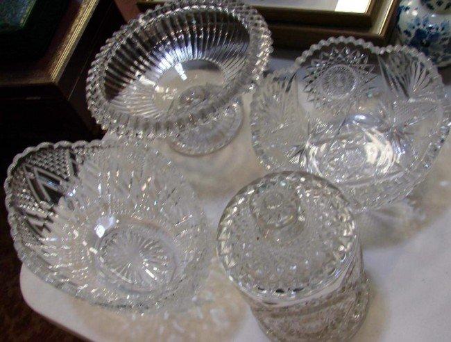 Vintage Crystal Bowls 74