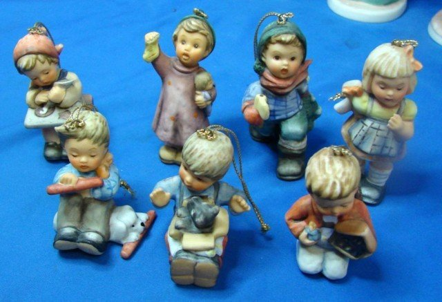 Hummel Goebel Christmas Tree Ornaments : Lot 1