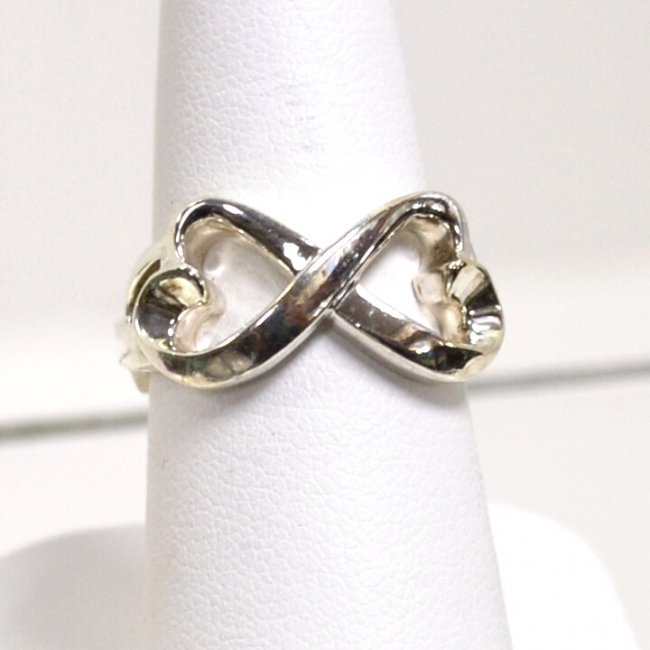 49 sterling infinity ring by tiffany amp co lot 49