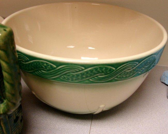 7 Pottery Bowls Rowe Longaberger Over Amp Back Y Lot 101