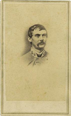 72788 Cdv Of Confederate General John Echols Lot 72788